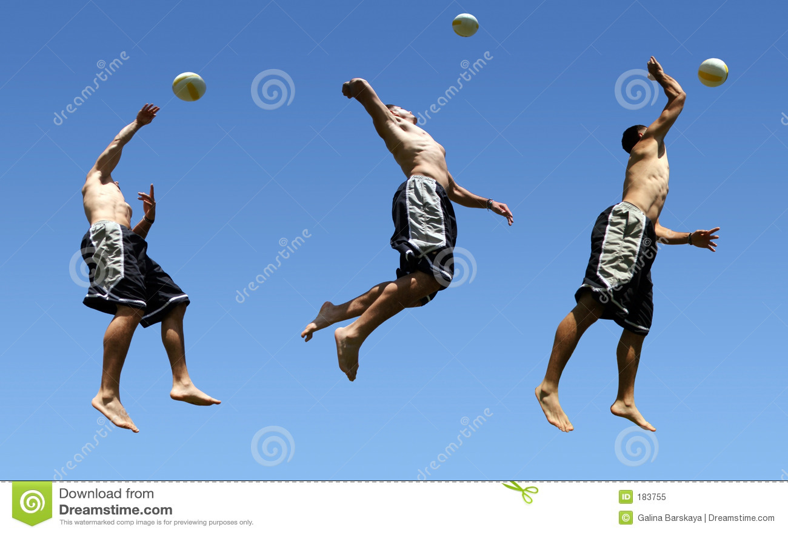 Het volleyball van het strand