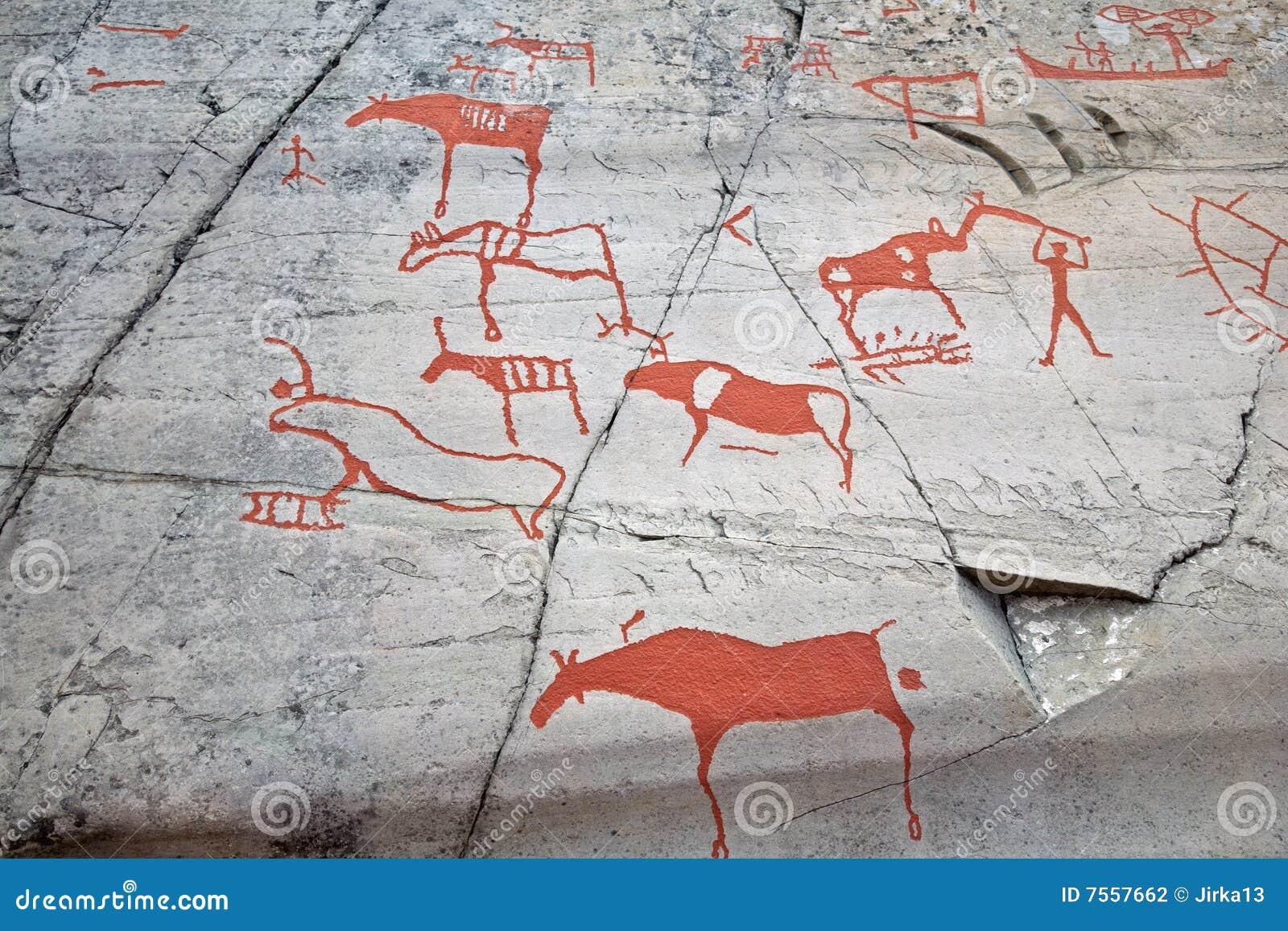Het voorhistorische schilderen