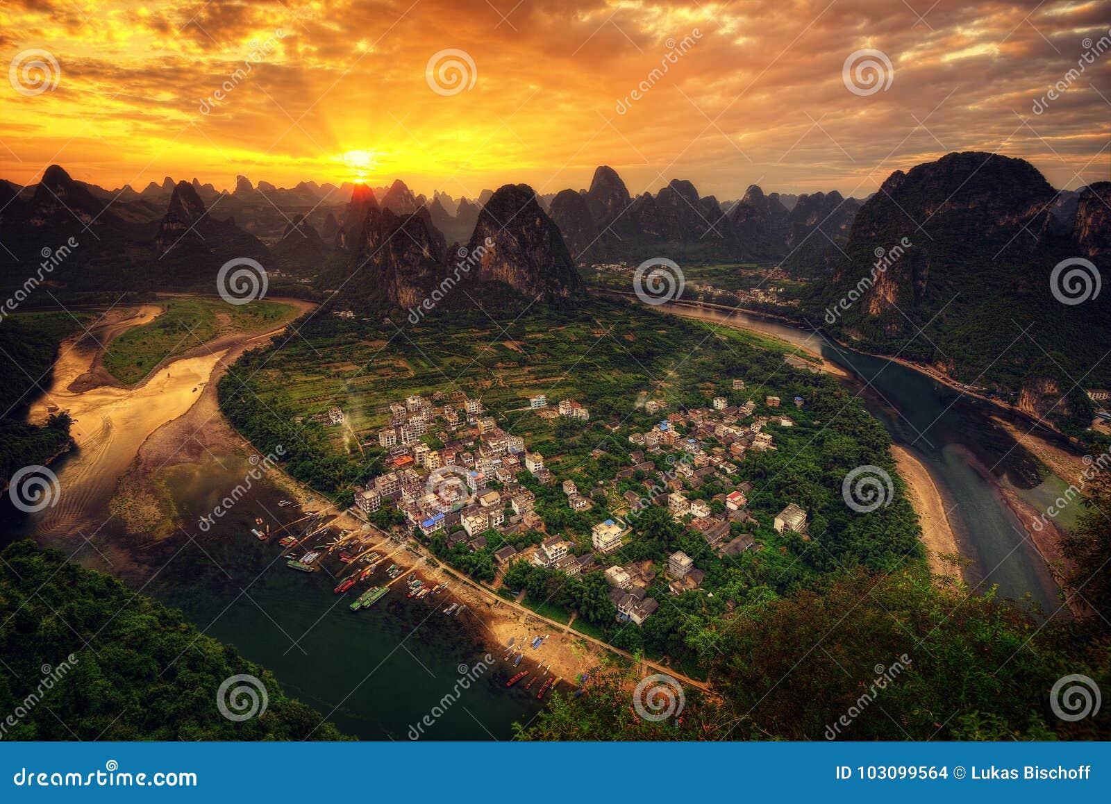 Het Vooruitzicht van Guilinxingpingzhen