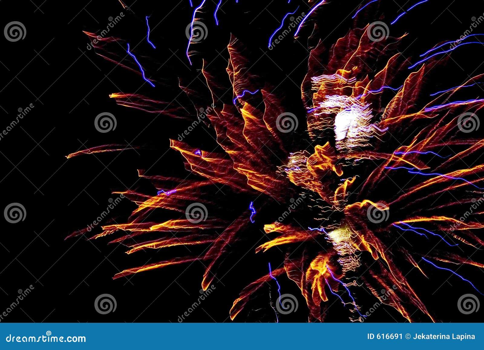 Het Vuurwerk van het nieuwjaar