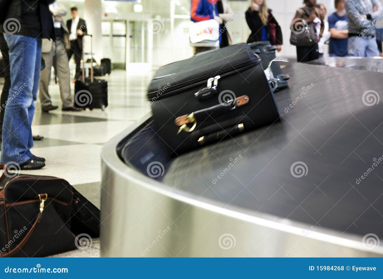 Het wachten bij de bagageeis