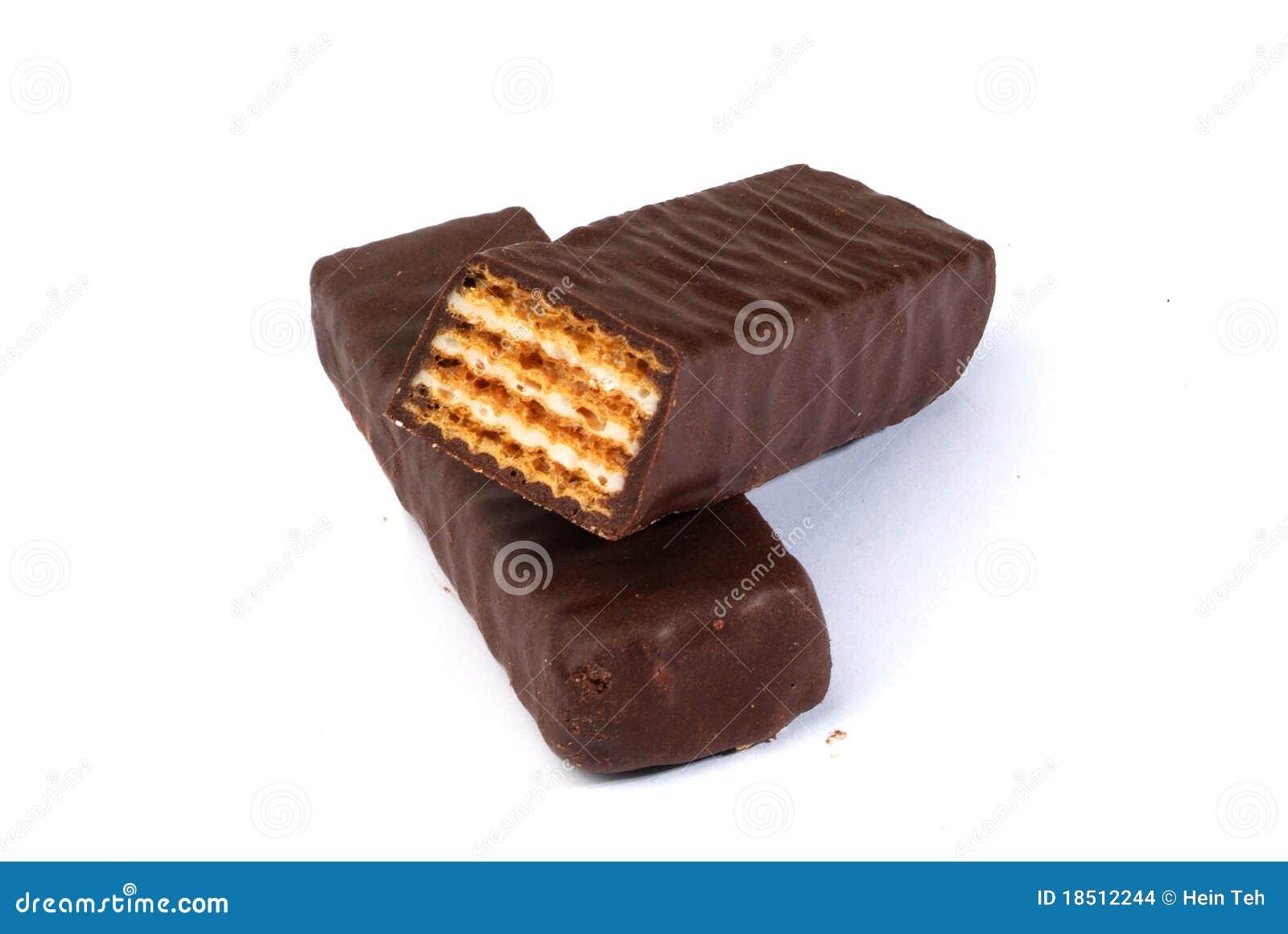 Het Wafeltje van de chocolade