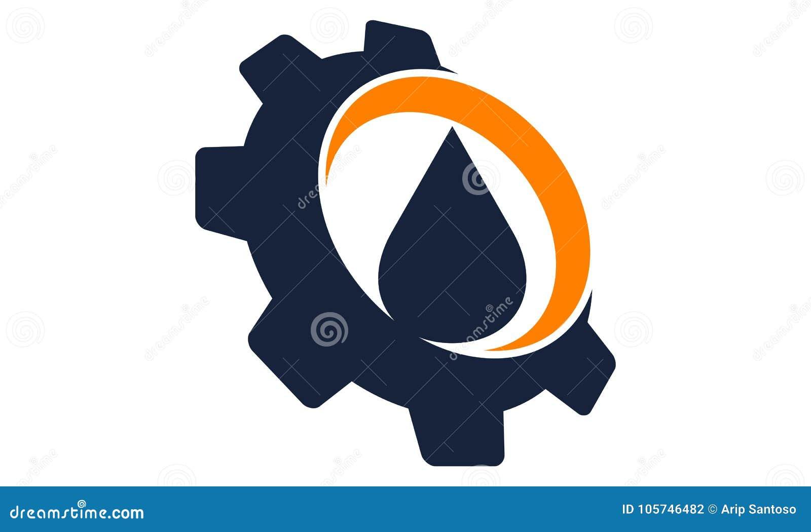 Het Water van de dalingsolie met toestel