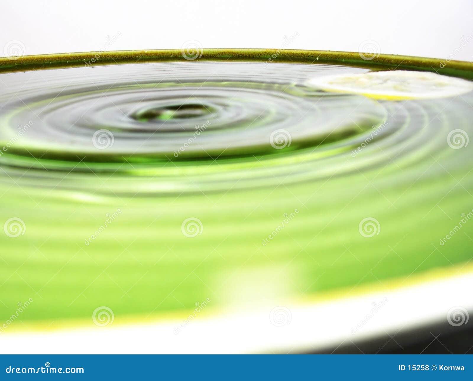 Het water van het onduidelijke beeld