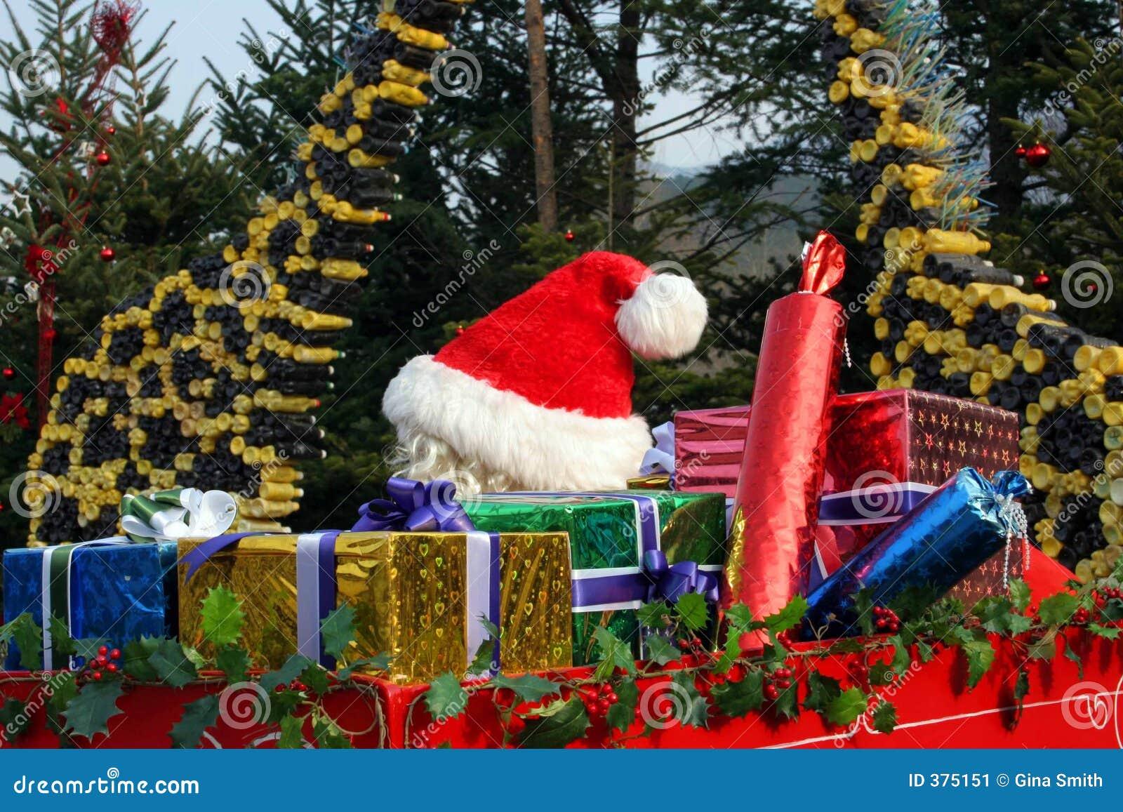 Het weggaan van de kerstman