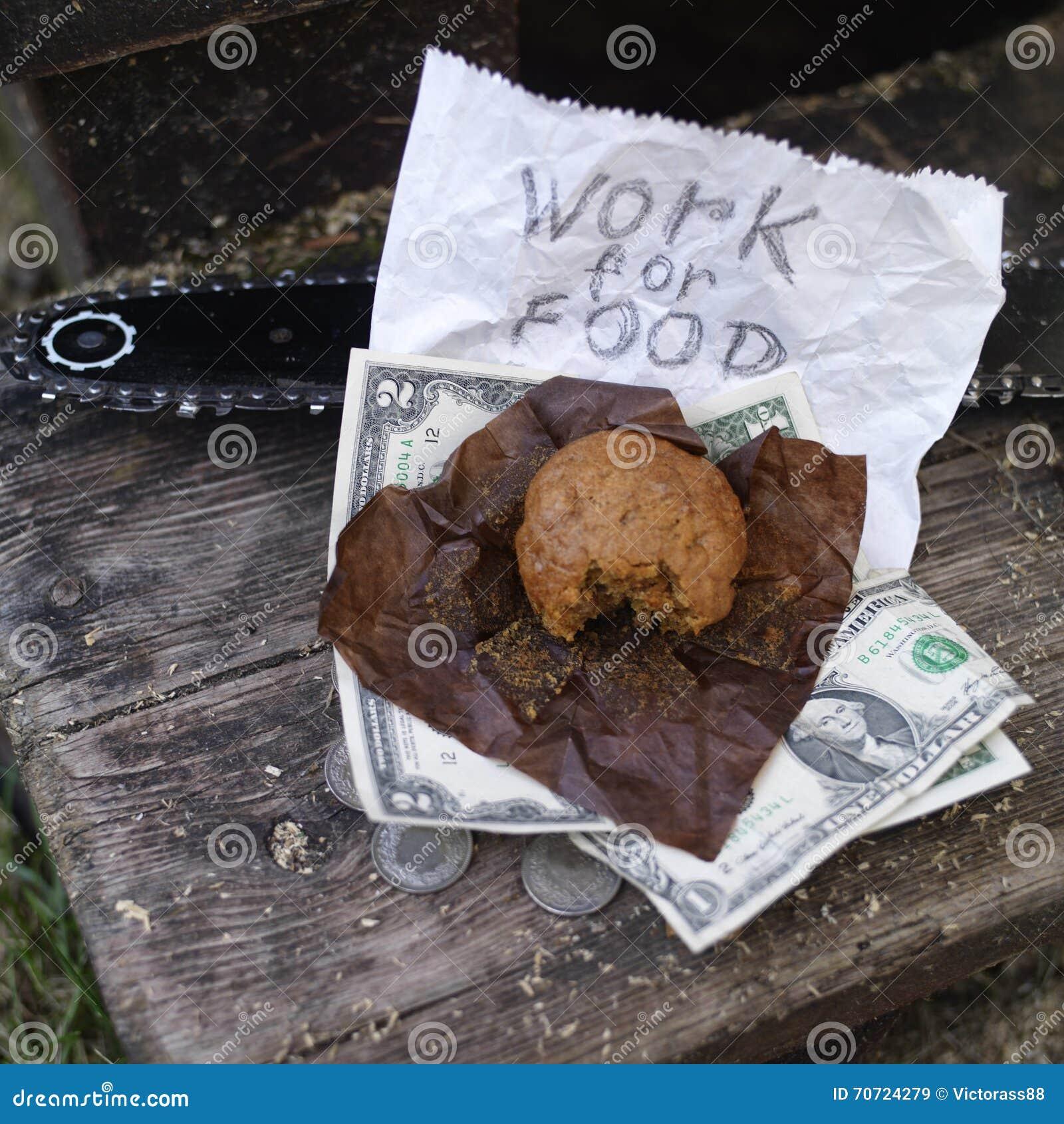 Het werken voor Voedsel