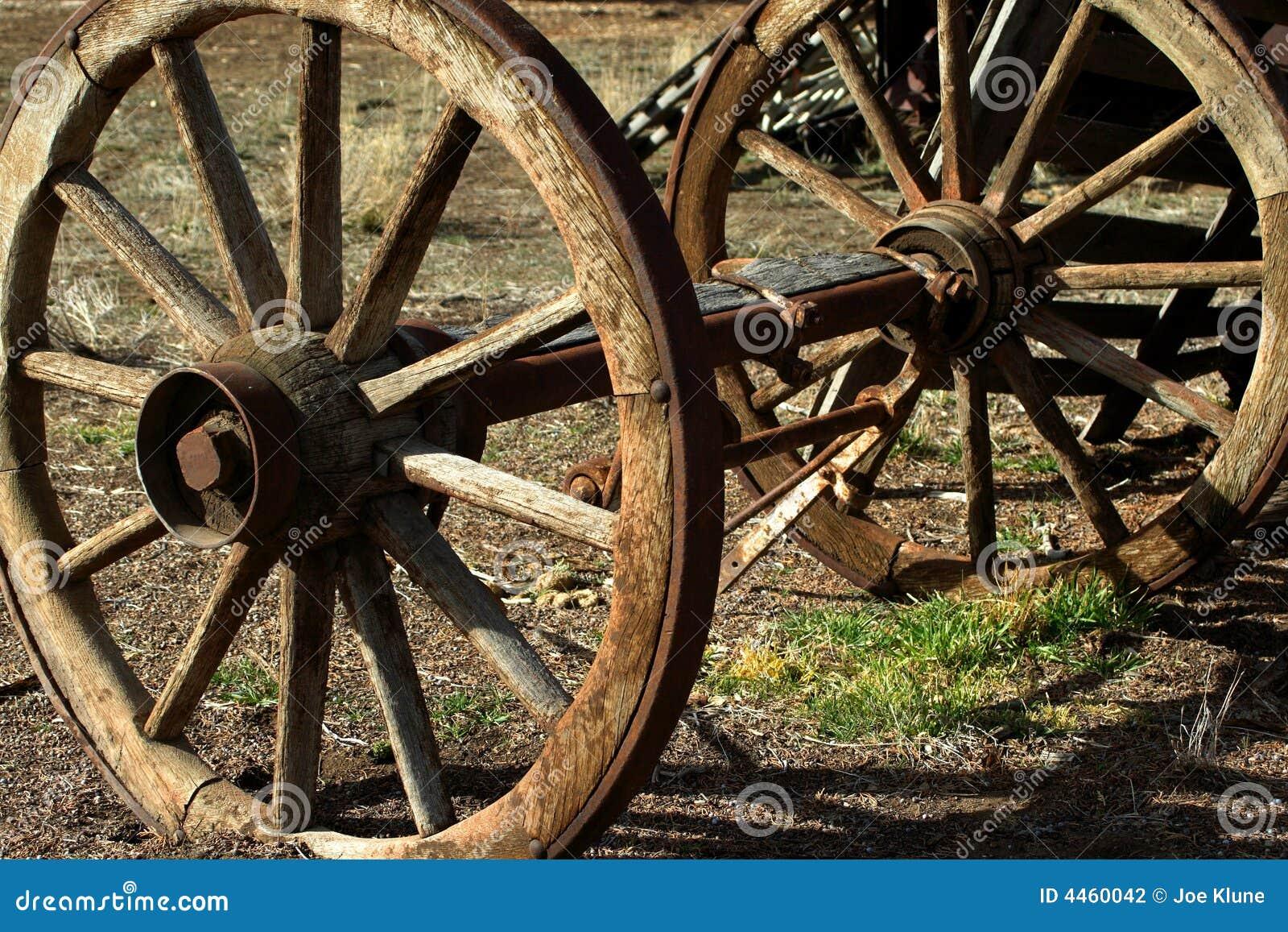 Het wiel van de wagen