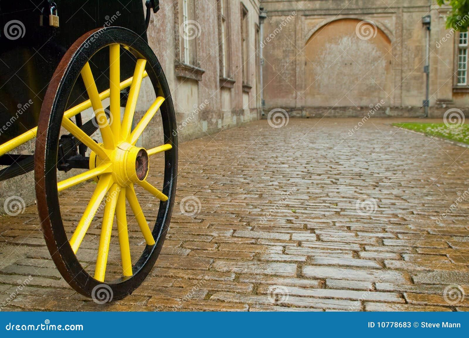 Het wiel van het vervoer