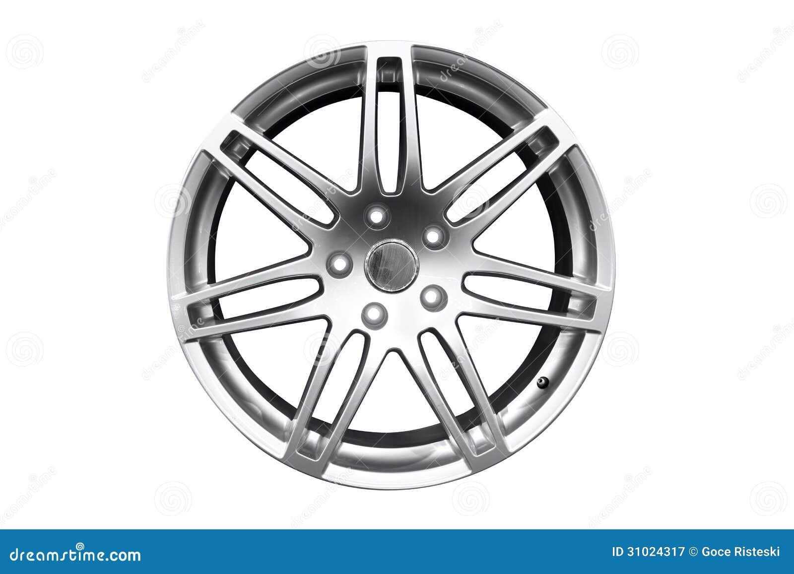 Het wielrand van het autoaluminium