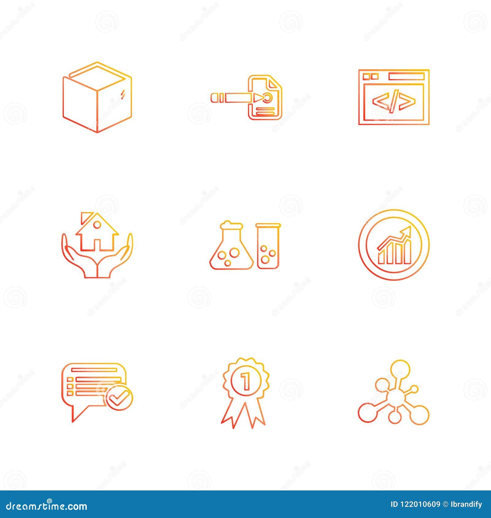 Het winkelen, geld, bank, dollar, rekening, eps pictogrammen geplaatst vecto
