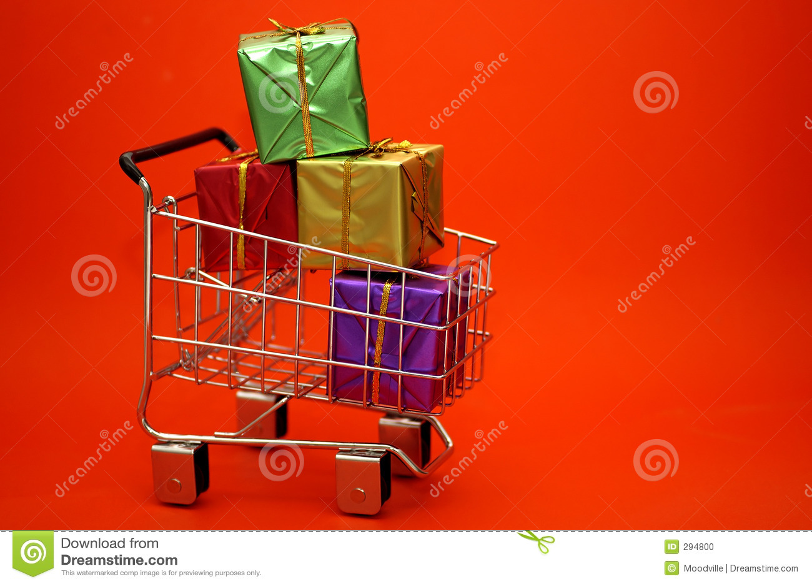 Het Winkelen van de gift