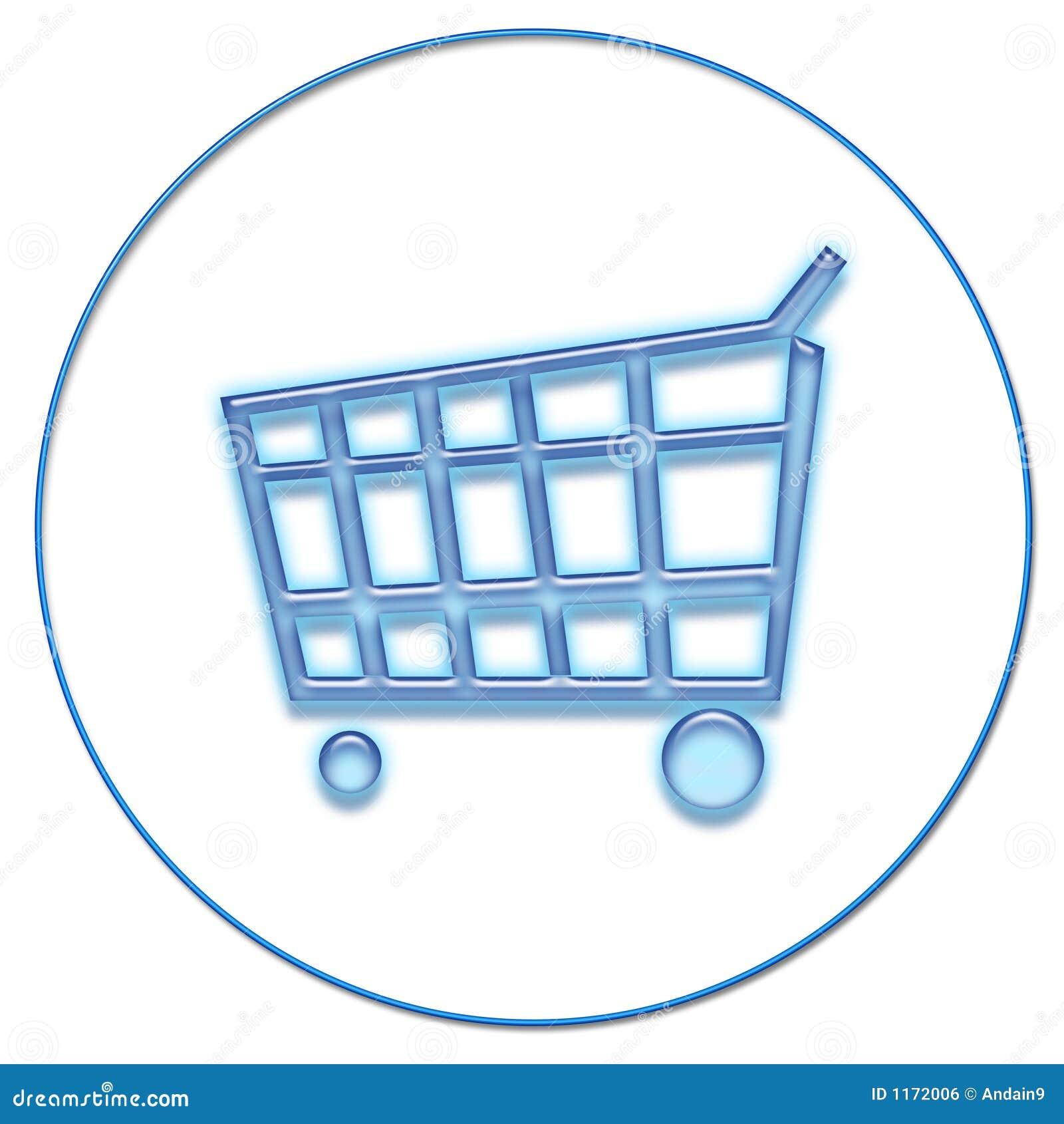 Het winkelen van het Web