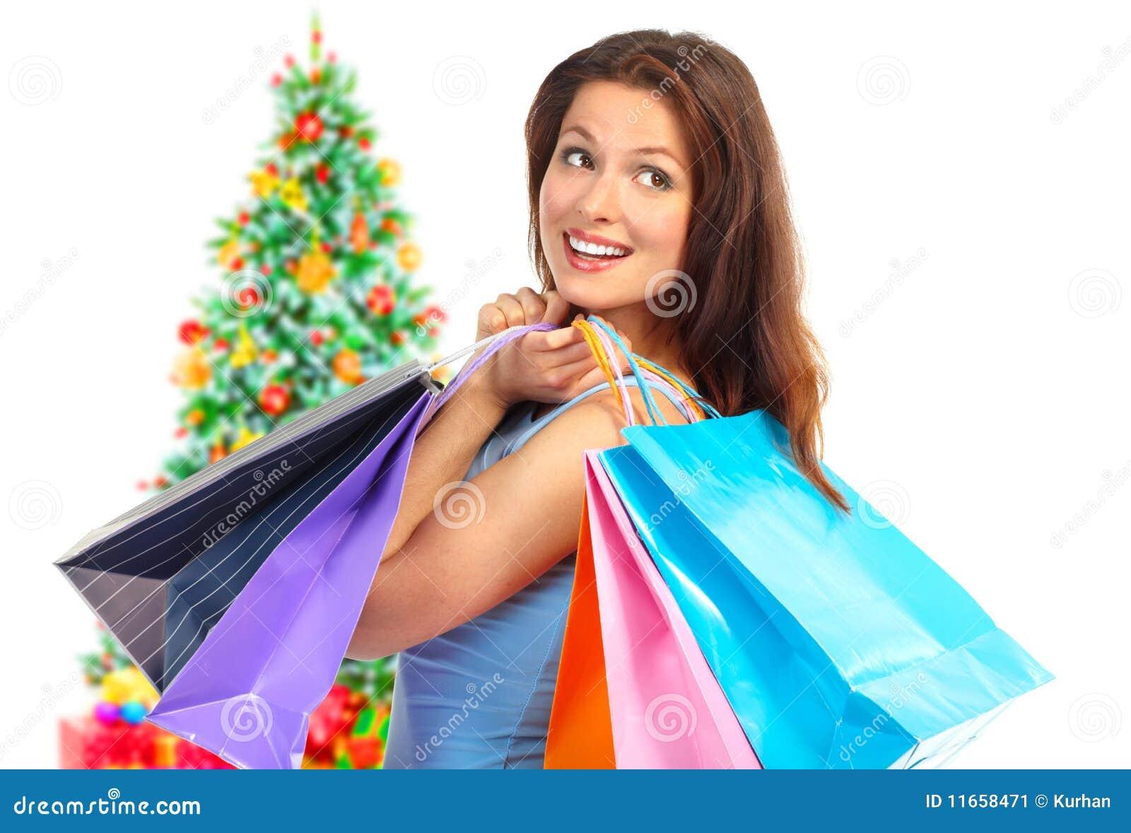 Het winkelen van Kerstmis