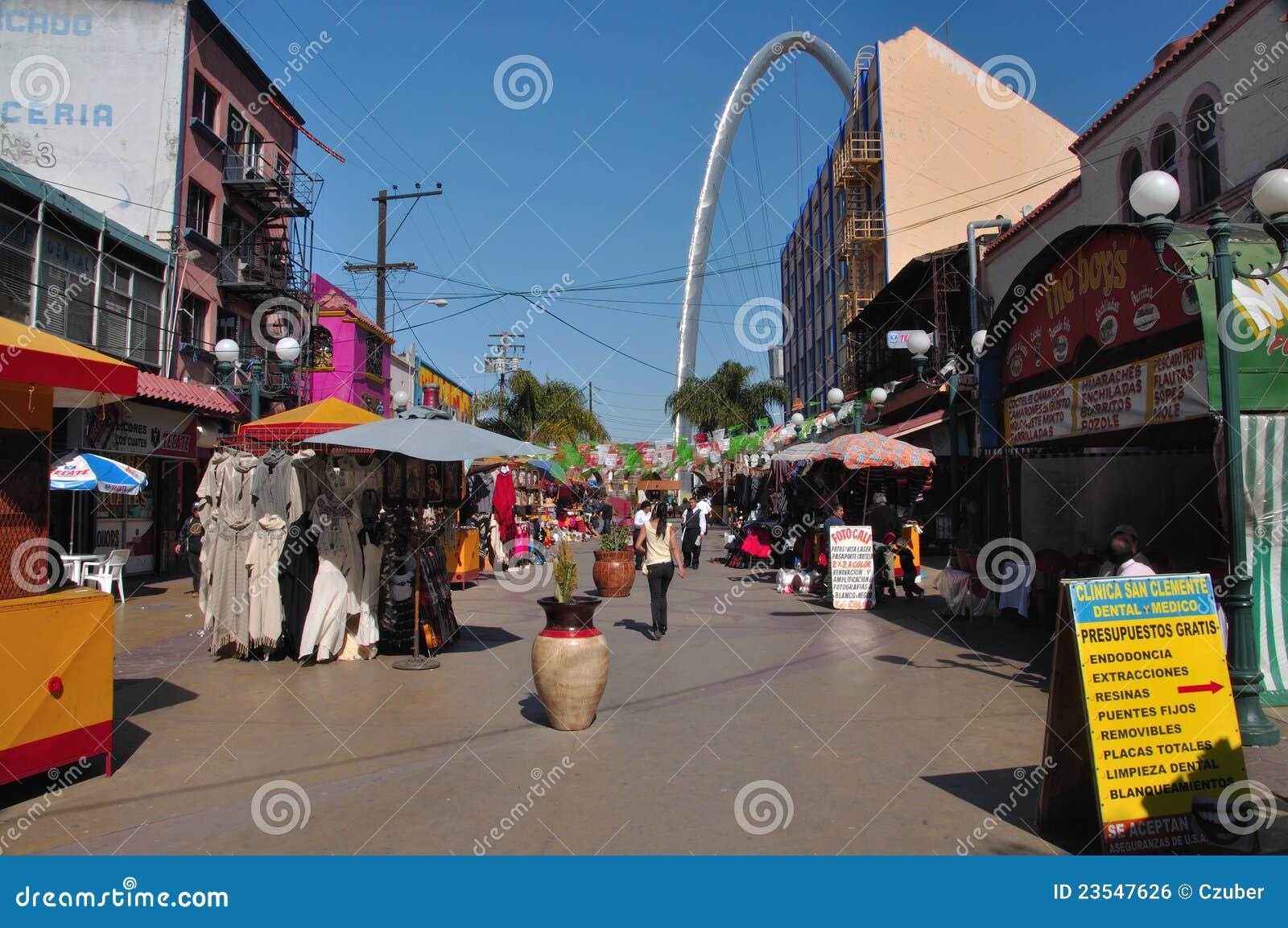 Het winkelen van Tijuana