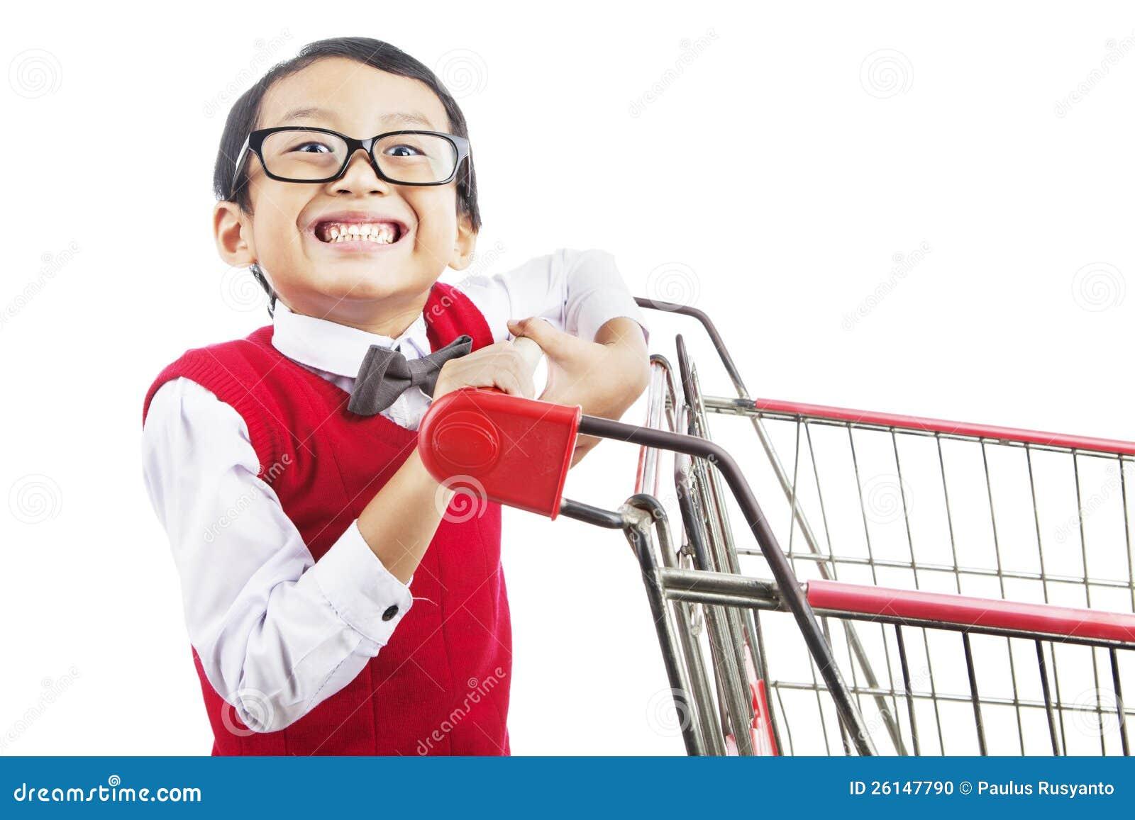 Het winkelen voor terug naar school