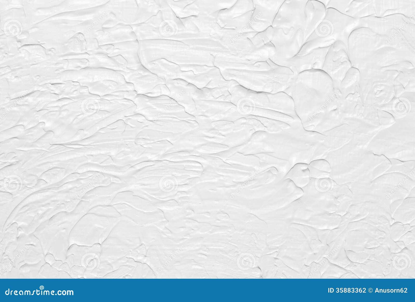 Het witte abstracte textuur schilderen