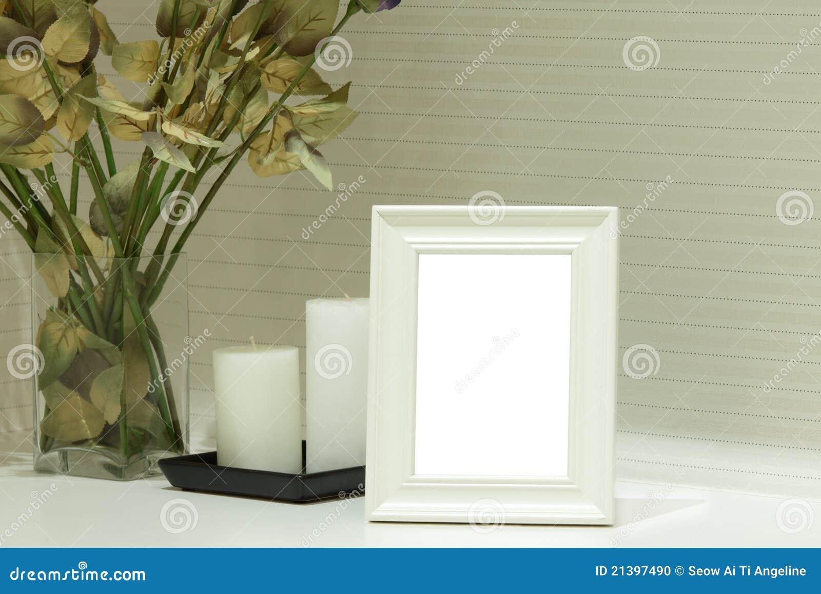 Het witte Frame van de Foto