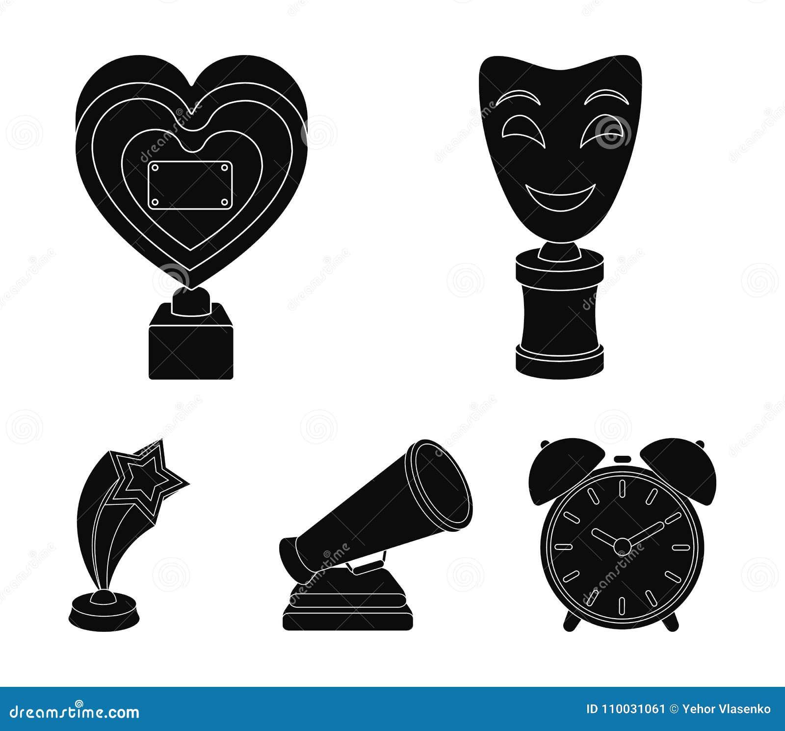 Het witte Masker bootst voor het beste drama, een prijs in de vorm van het hart en andere prijzen na Filmtoekenning geplaatst inz