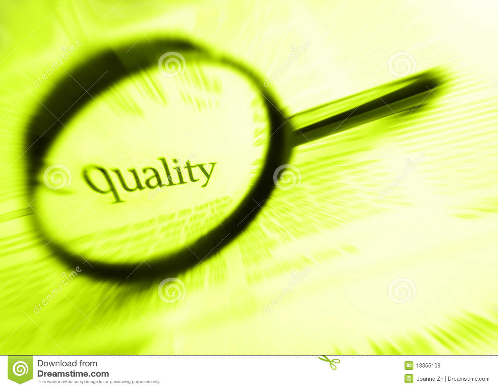 Het woord van de kwaliteit