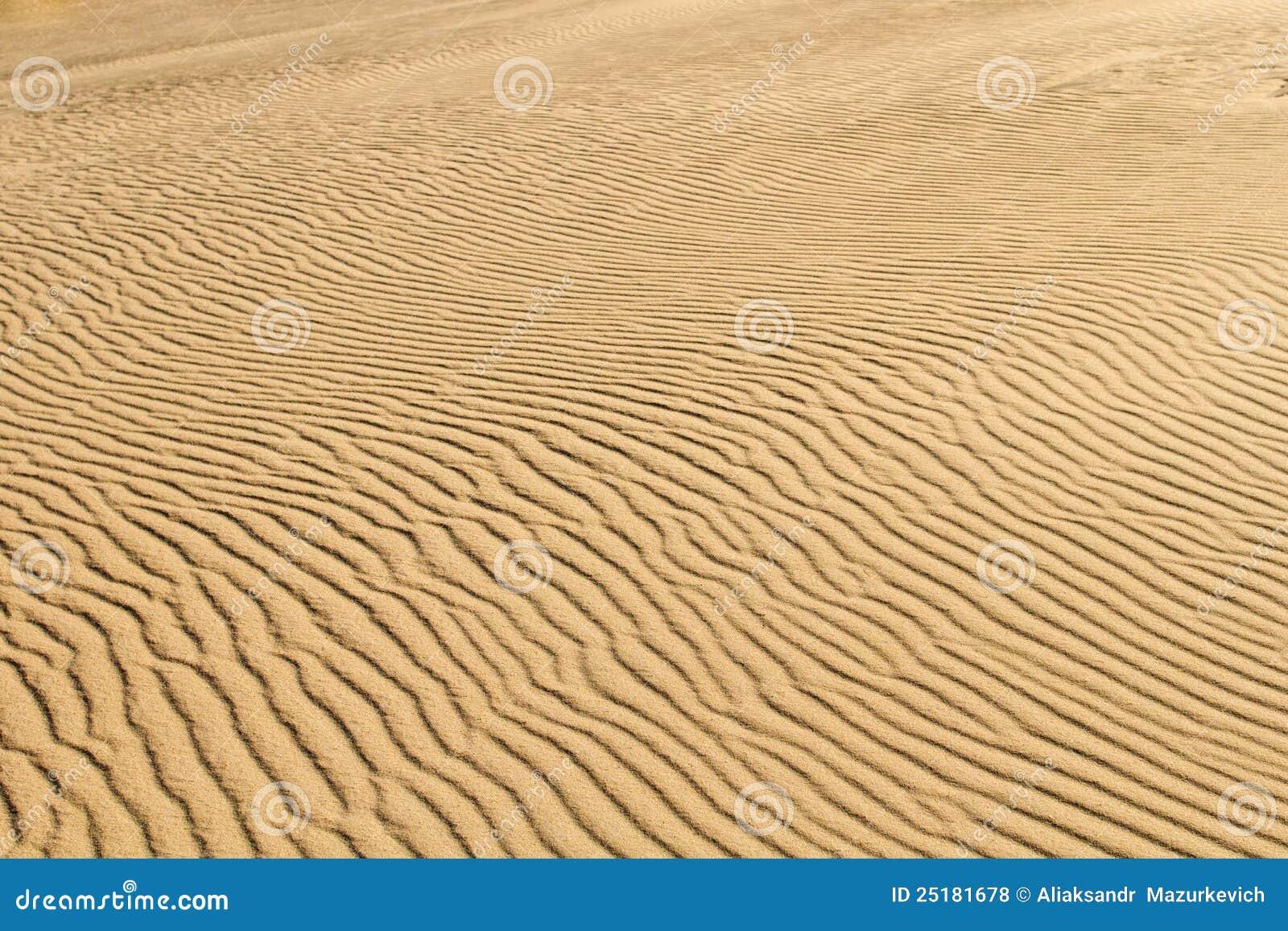 Het zandachtergrond van de woestijn