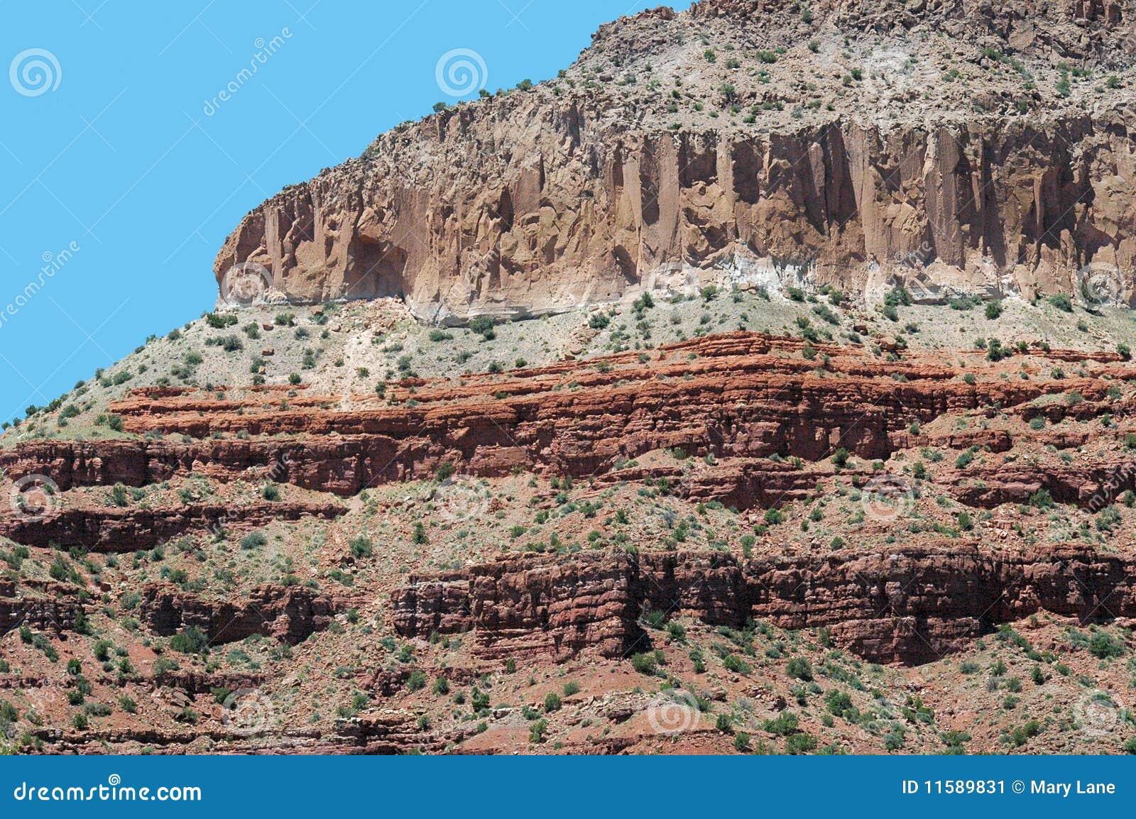 Het Zandsteen van New Mexico