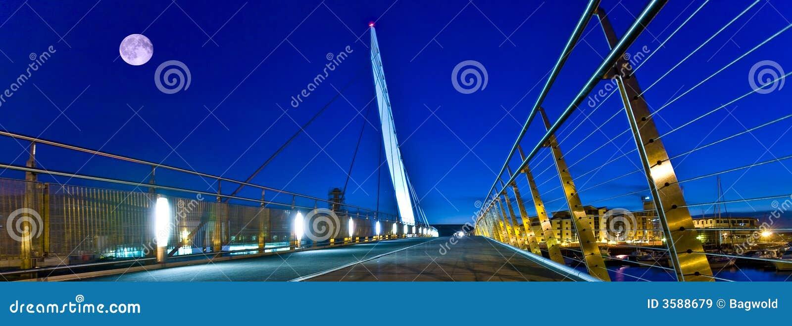 Het zeilbrug van Swansea