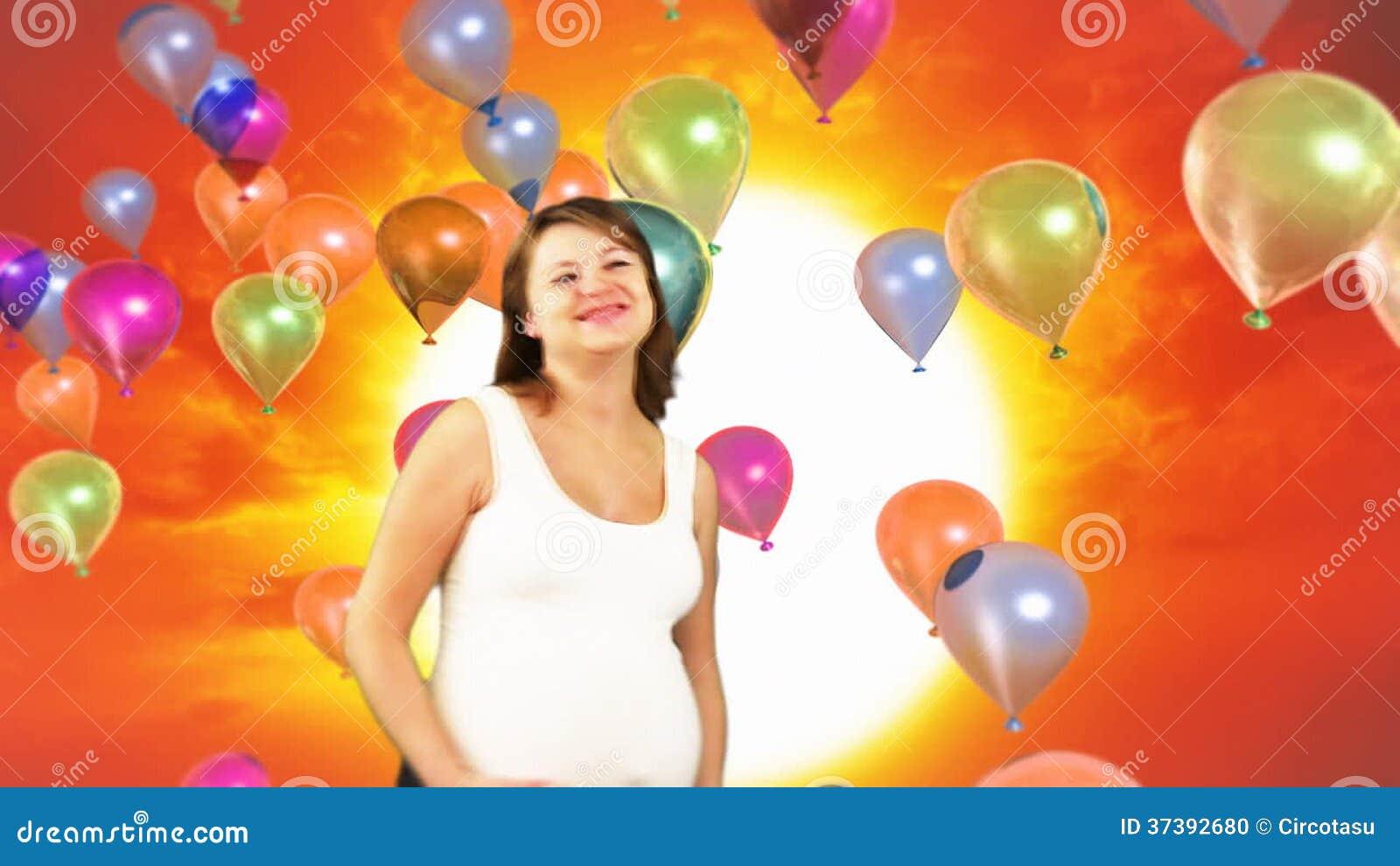 verjaardag vrouw zwanger