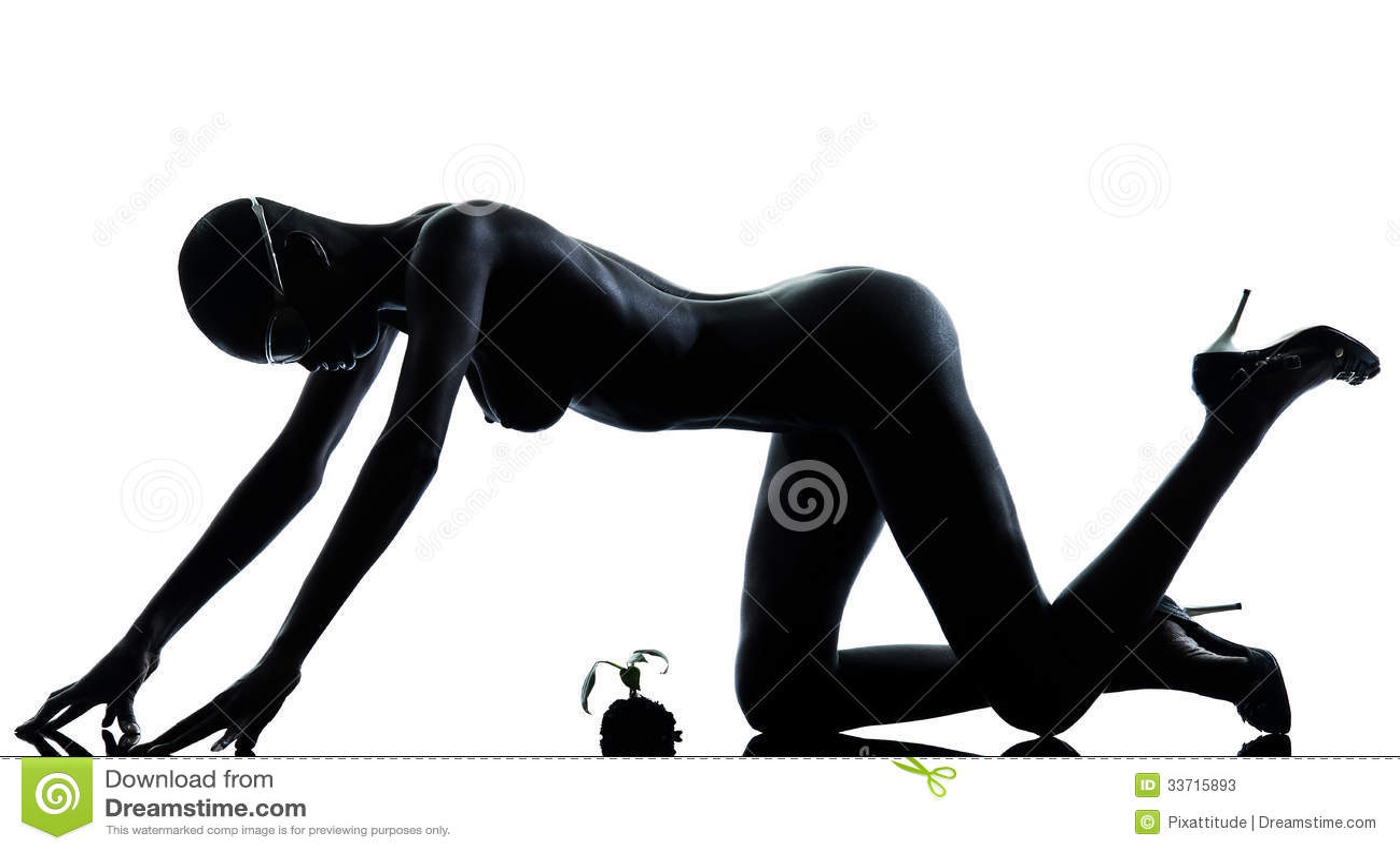 naakte zwarte meisjes Fotos