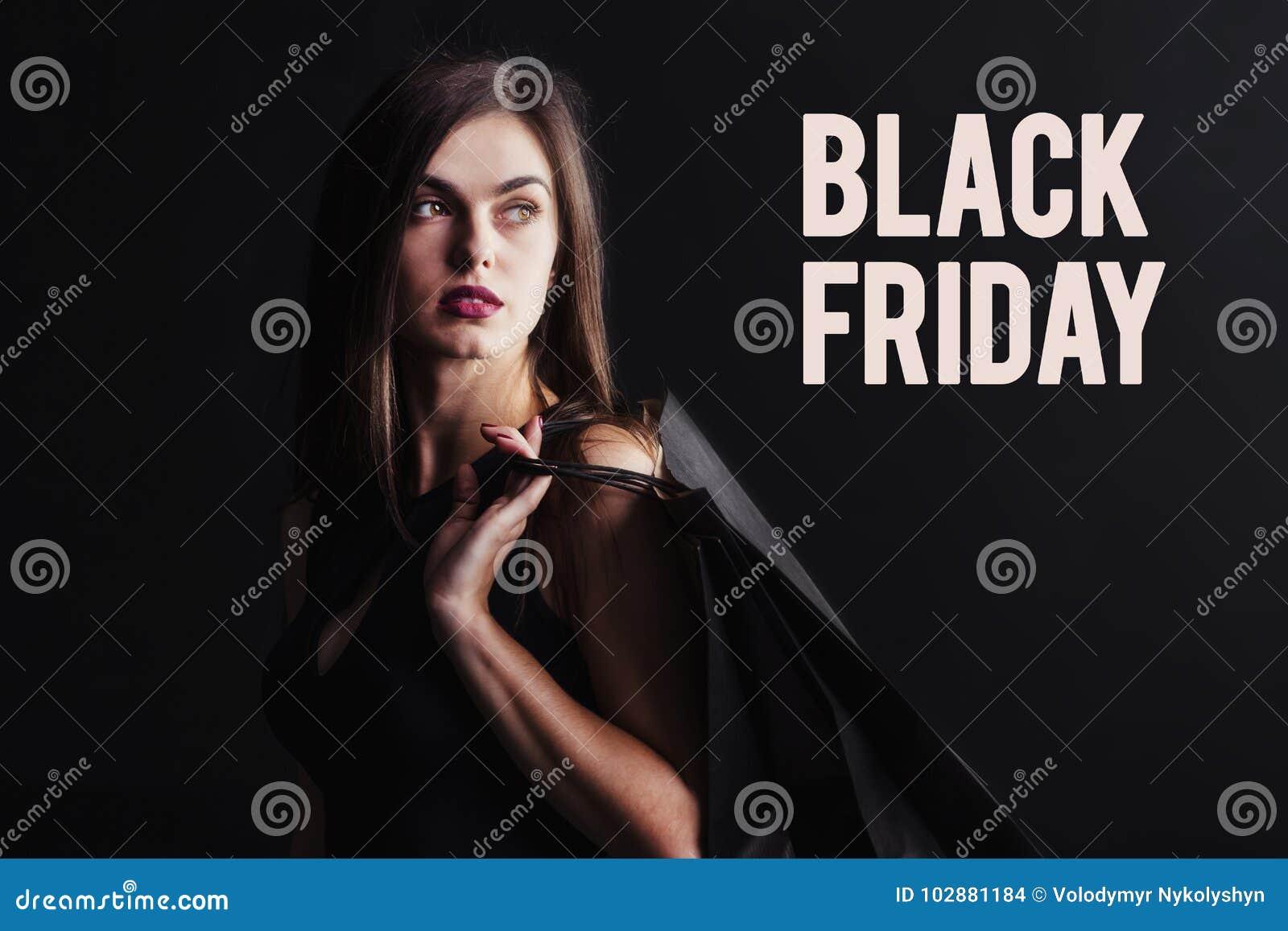 Het zwarte winkelen van de Vrijdag