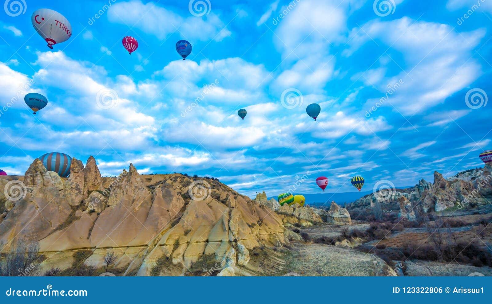 Hete Ballon met Goreme-Landschapsreis in Turkije