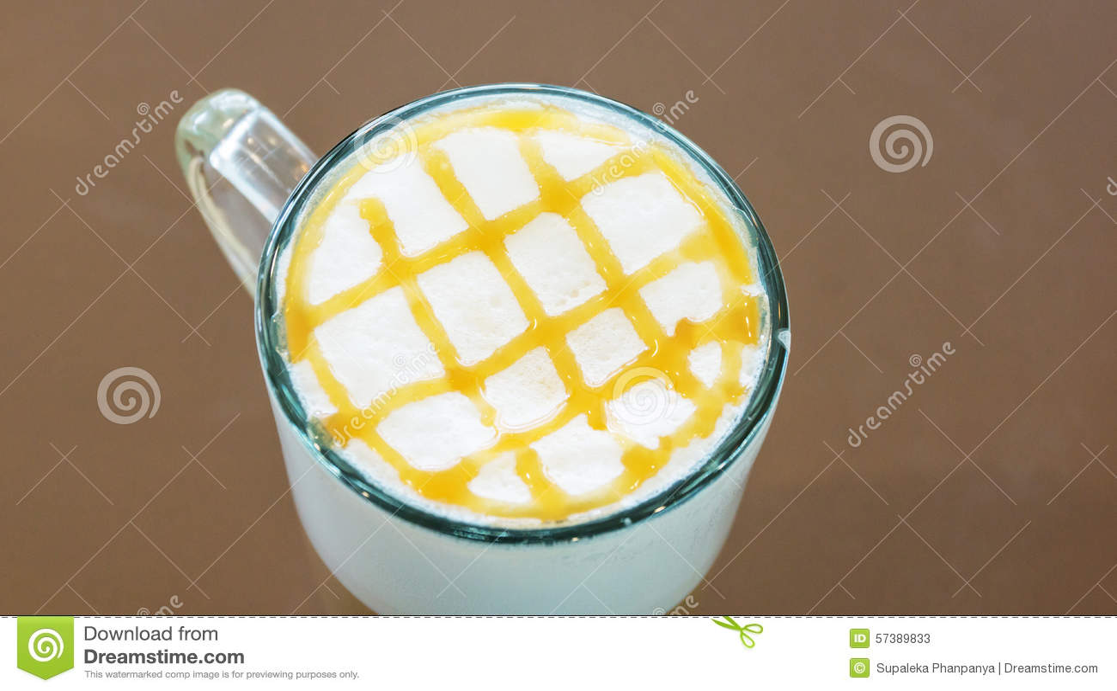 Hete koffiekaramel