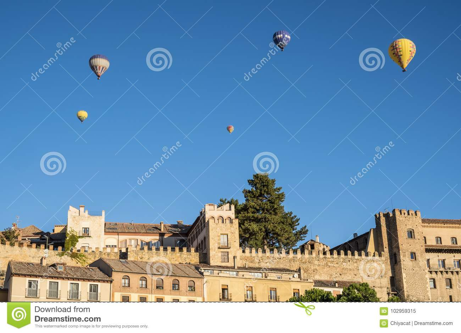 Hete Lucht Ballooning in Segovia Spanje 8
