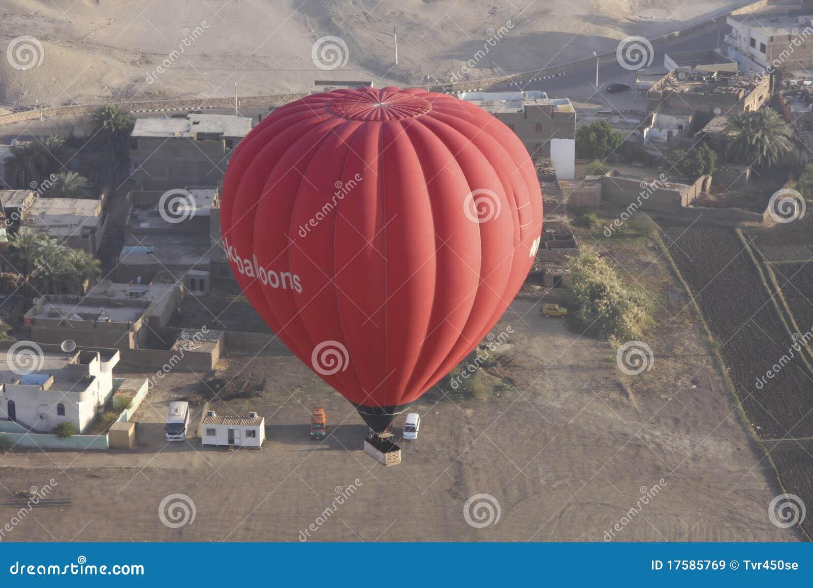 Hete lucht het ballooning