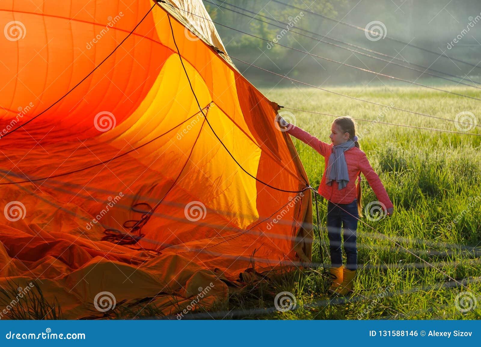 Hete luchtballons in de hemel