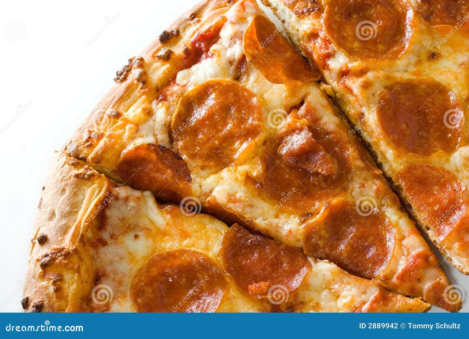Hete pepperonispizza