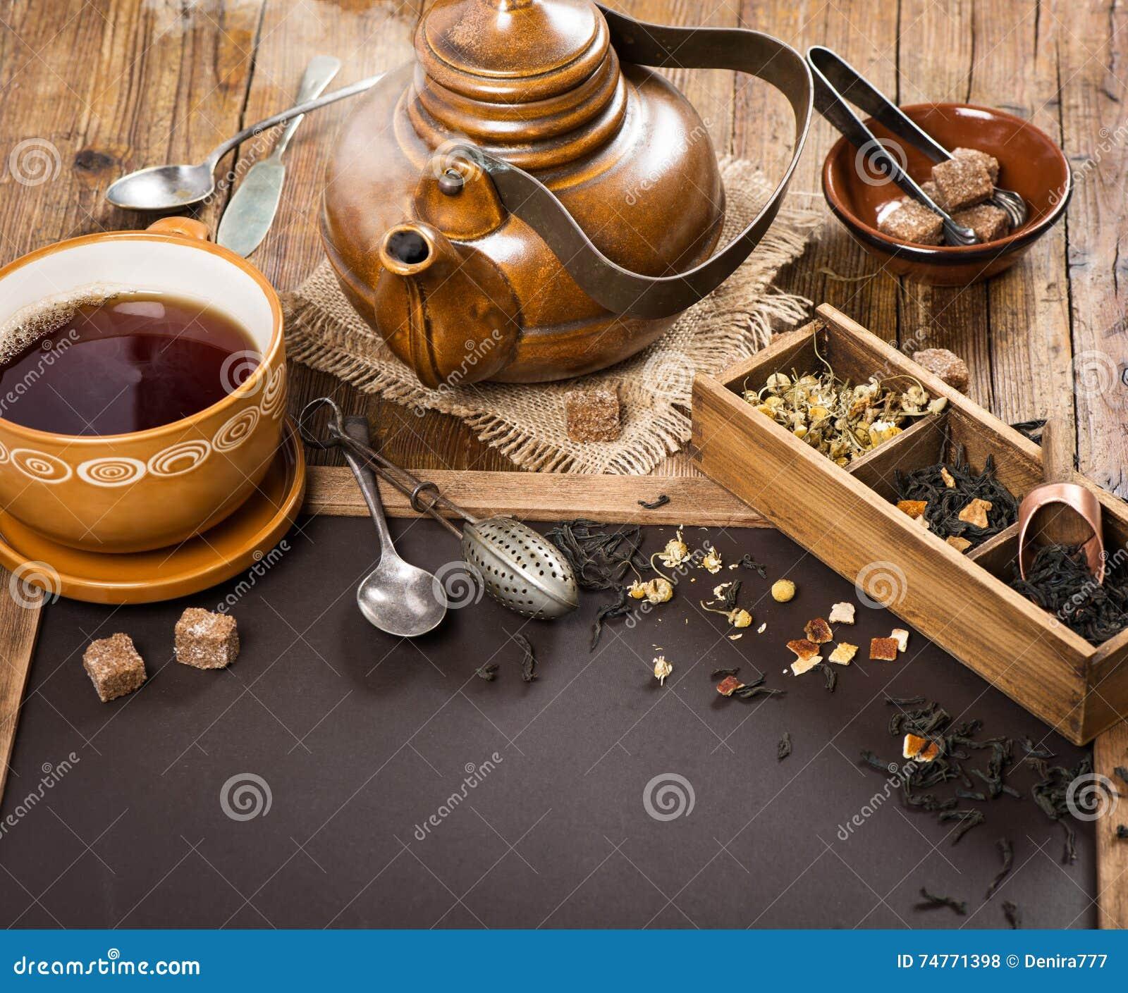 Hete thee in theepot en kop