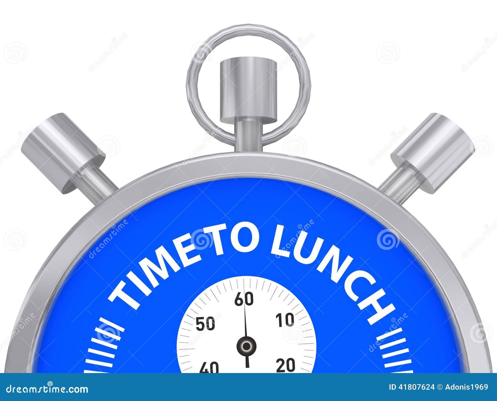 Heure de déjeuner