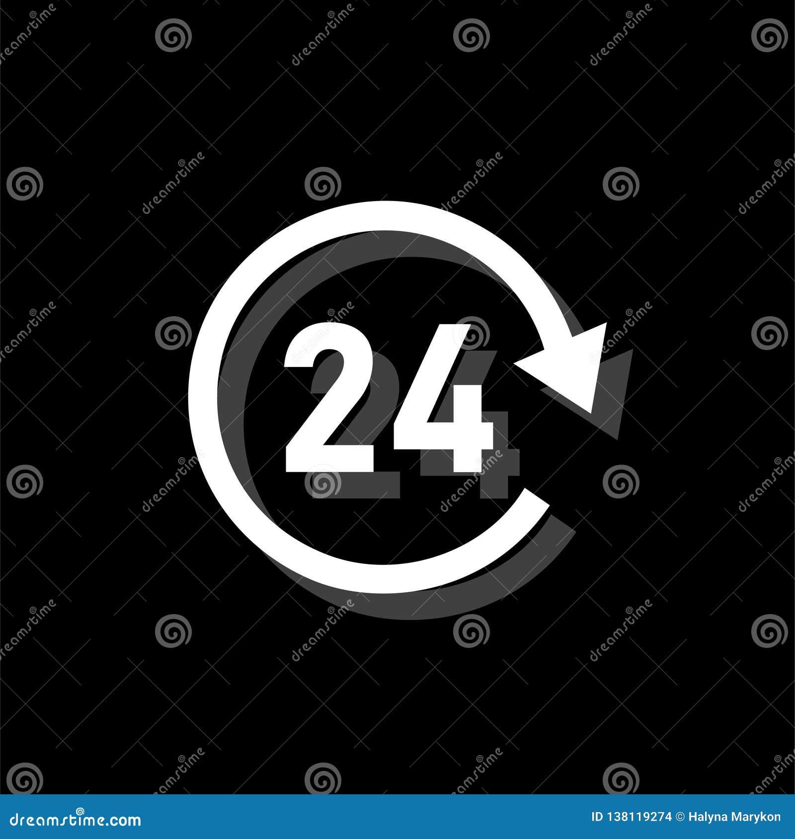 24 heures d appartement disponible d icône