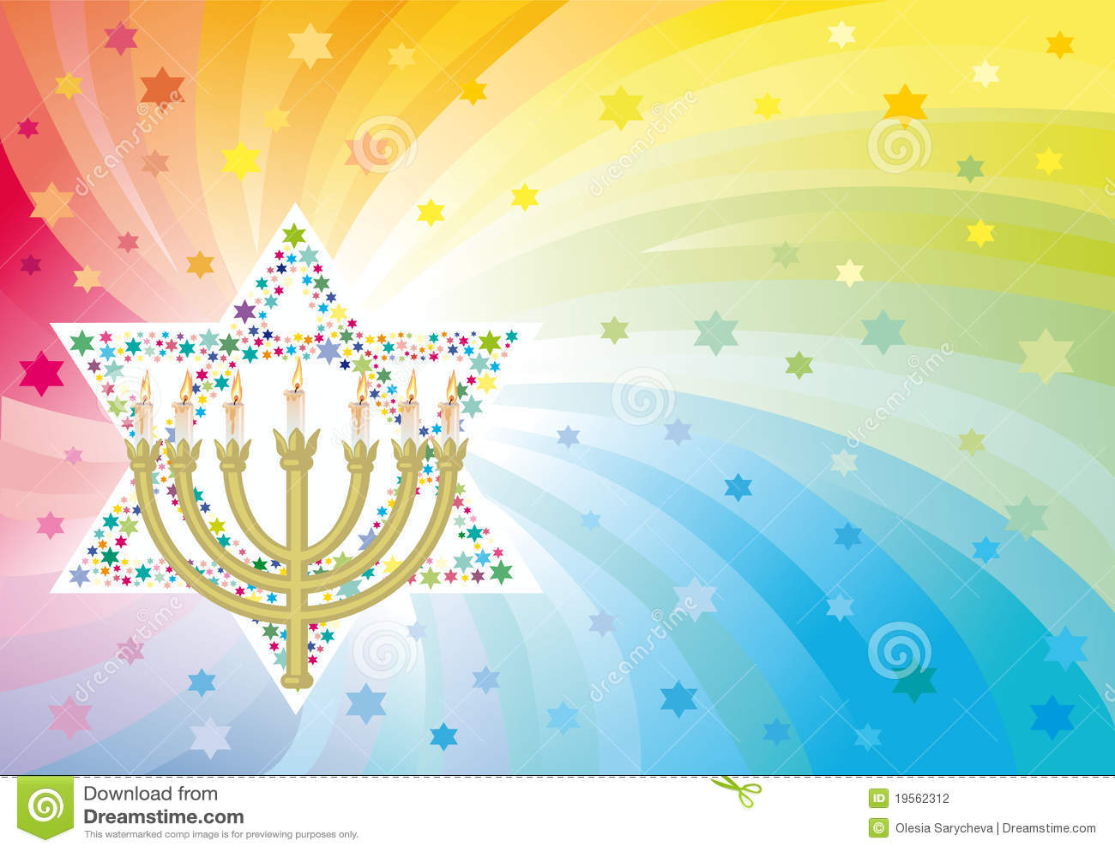 Heureux fond aux vacances juives