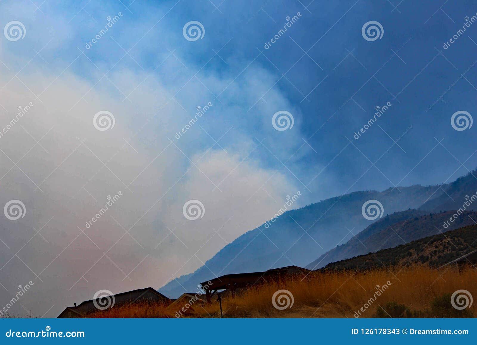 Heuvel Zijaanzicht, Elandenrand, Utah