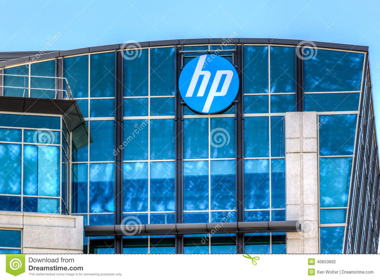 Hewlett packard corporate headquarters in silicon valley editorial hewlett packard corporate headquarters in silicon valley kristyandbryce Choice Image