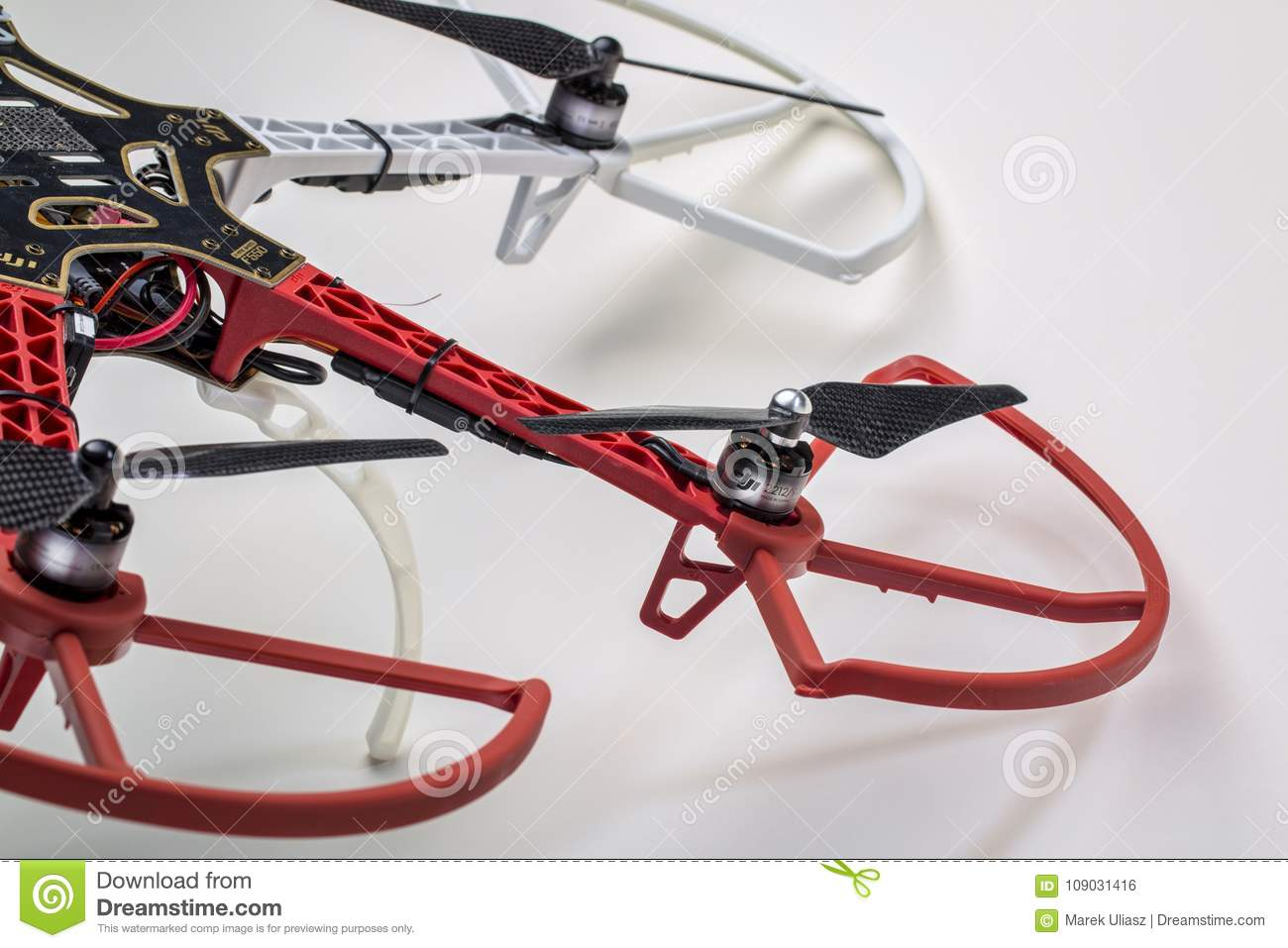 Hexacopter drone abstract editorial photo  Image of technology