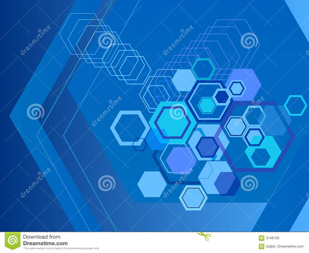 Abstract Sports Background Royalty Free Stock Image: Hexagon Abstract Backgrounds Royalty Free Stock Image