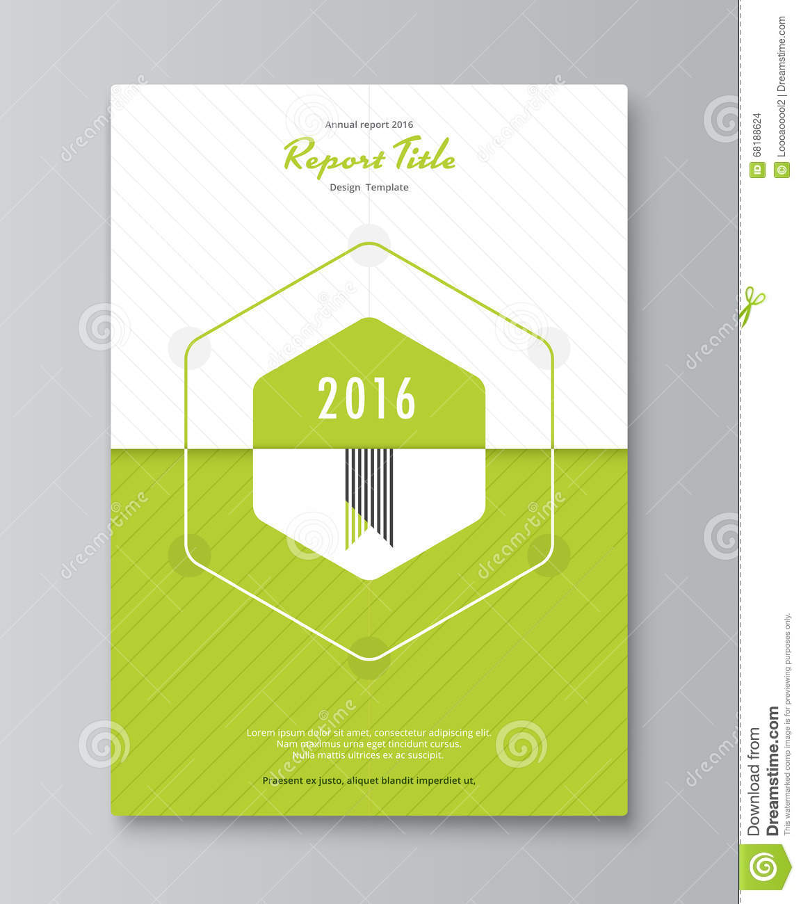 Annual Report Book Cover Design ~ Hexagon annual report cover design book brochure