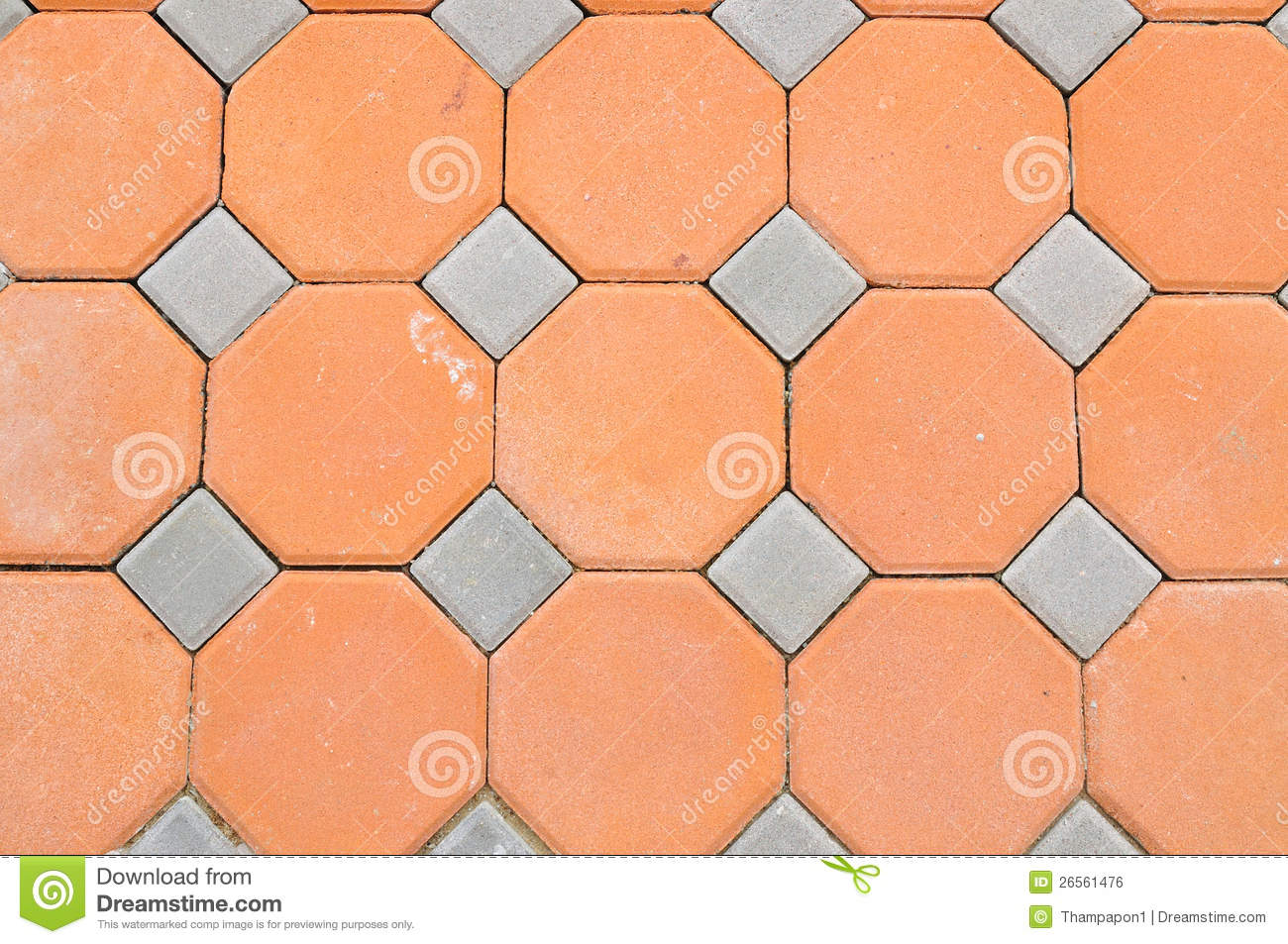 Hexagon Brick Block Stock Photo Image Of Decorative