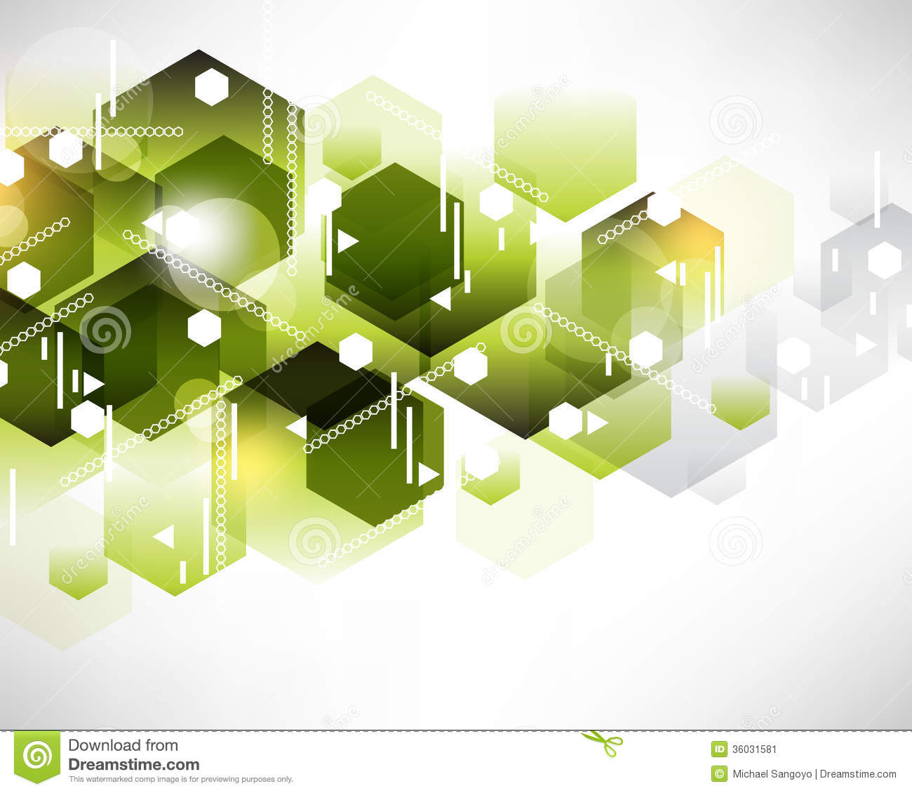 Hexagon Pattern Background Design Stock Image - Image: 36031581