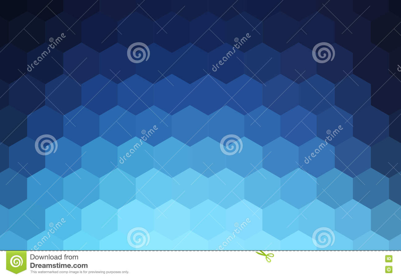 Hexagons abstract colorful background
