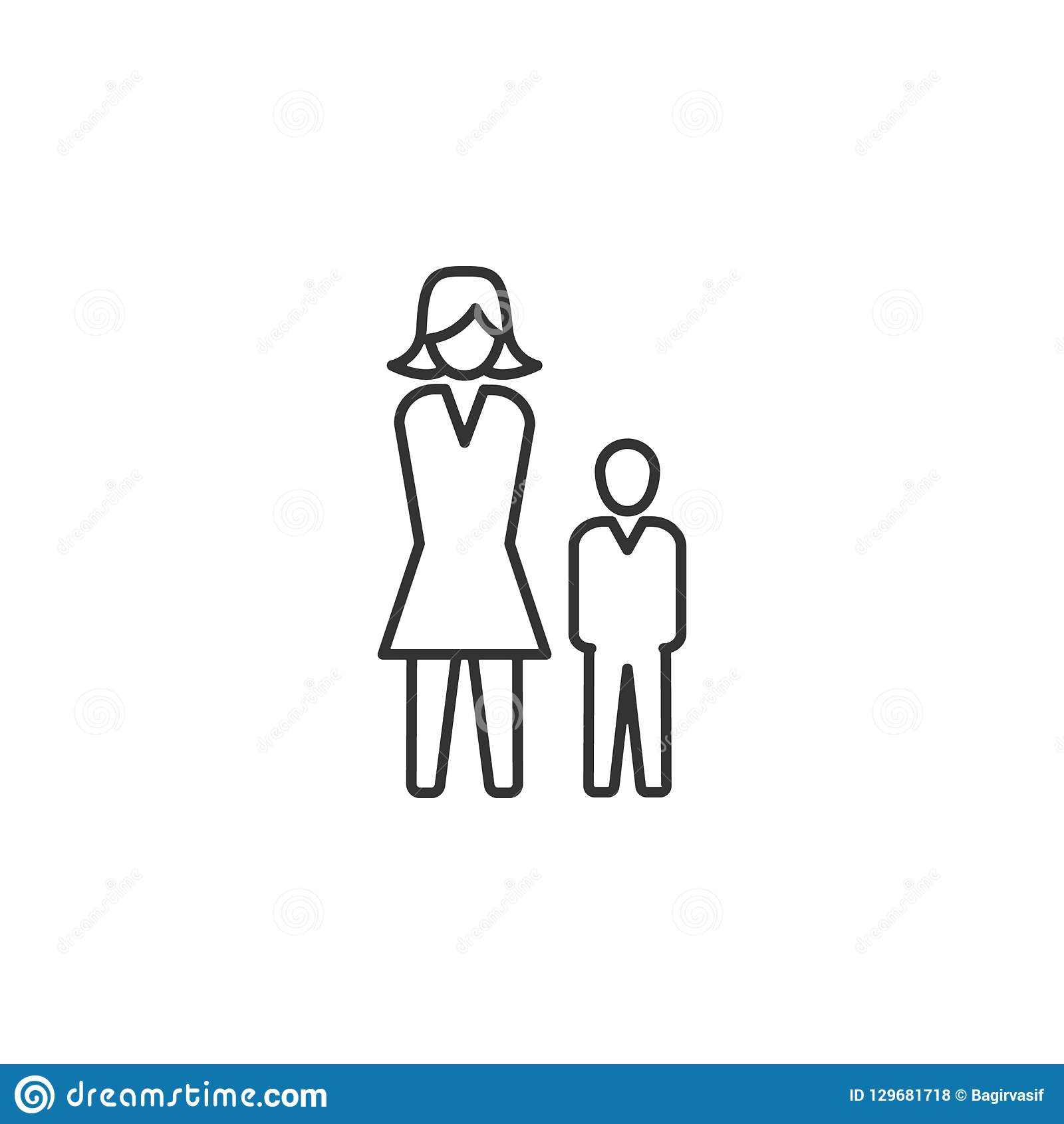 Hiérarchie, humain, branche d activité icône Illustration plate simple et moderne de vecteur pour l APP mobile, site Web ou burea