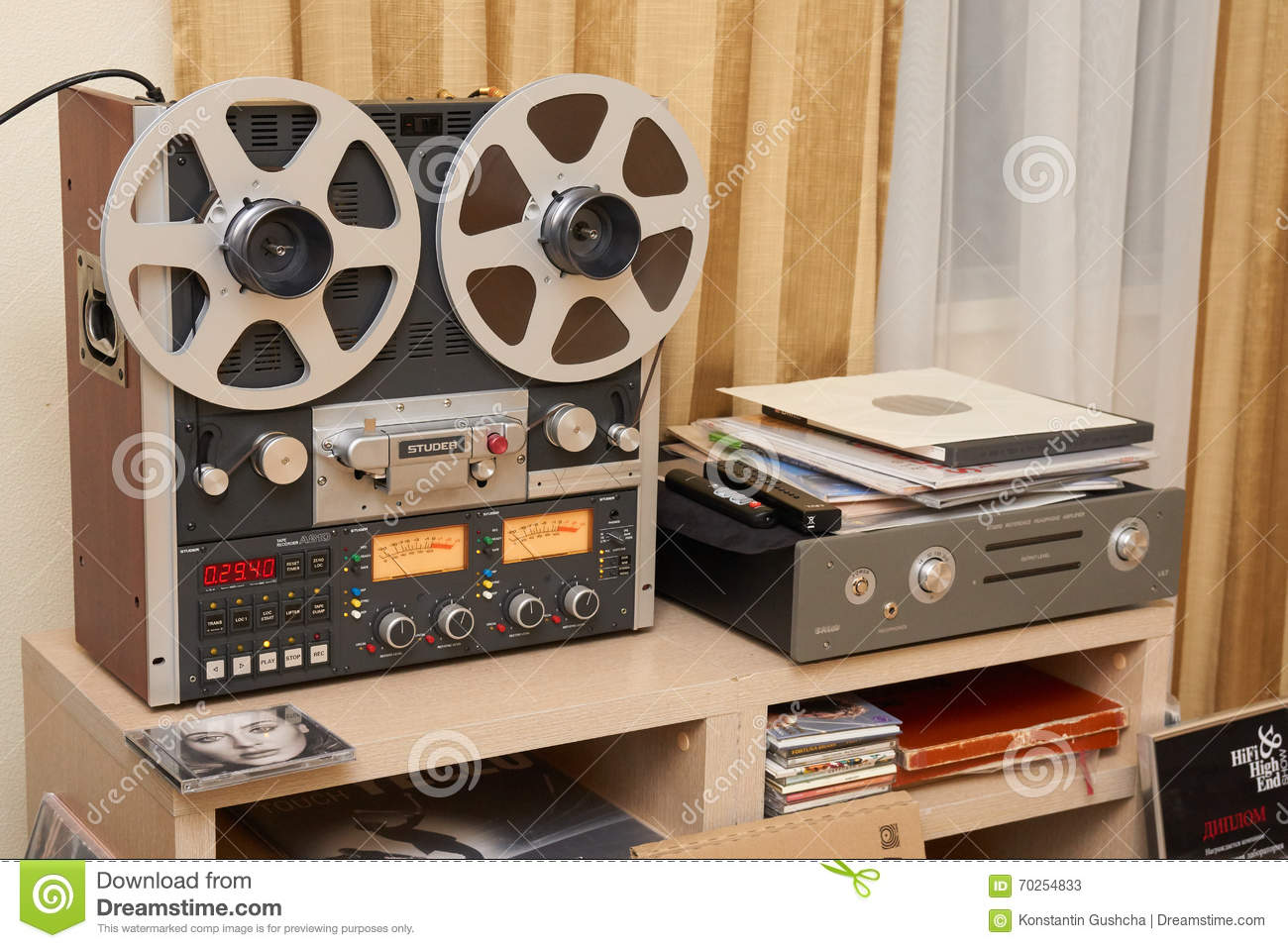 Hi Fi And High End Show In Moscow Editorial Stock Photo