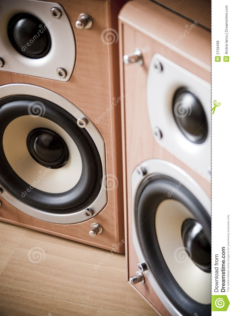 Hi Fi Speakers Royalty Free Stock Photos Image 2159498